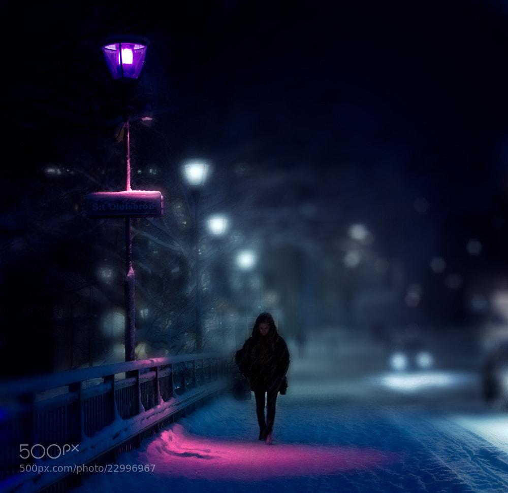 Photograph Uppsala night by Cristina Ramos on 500px