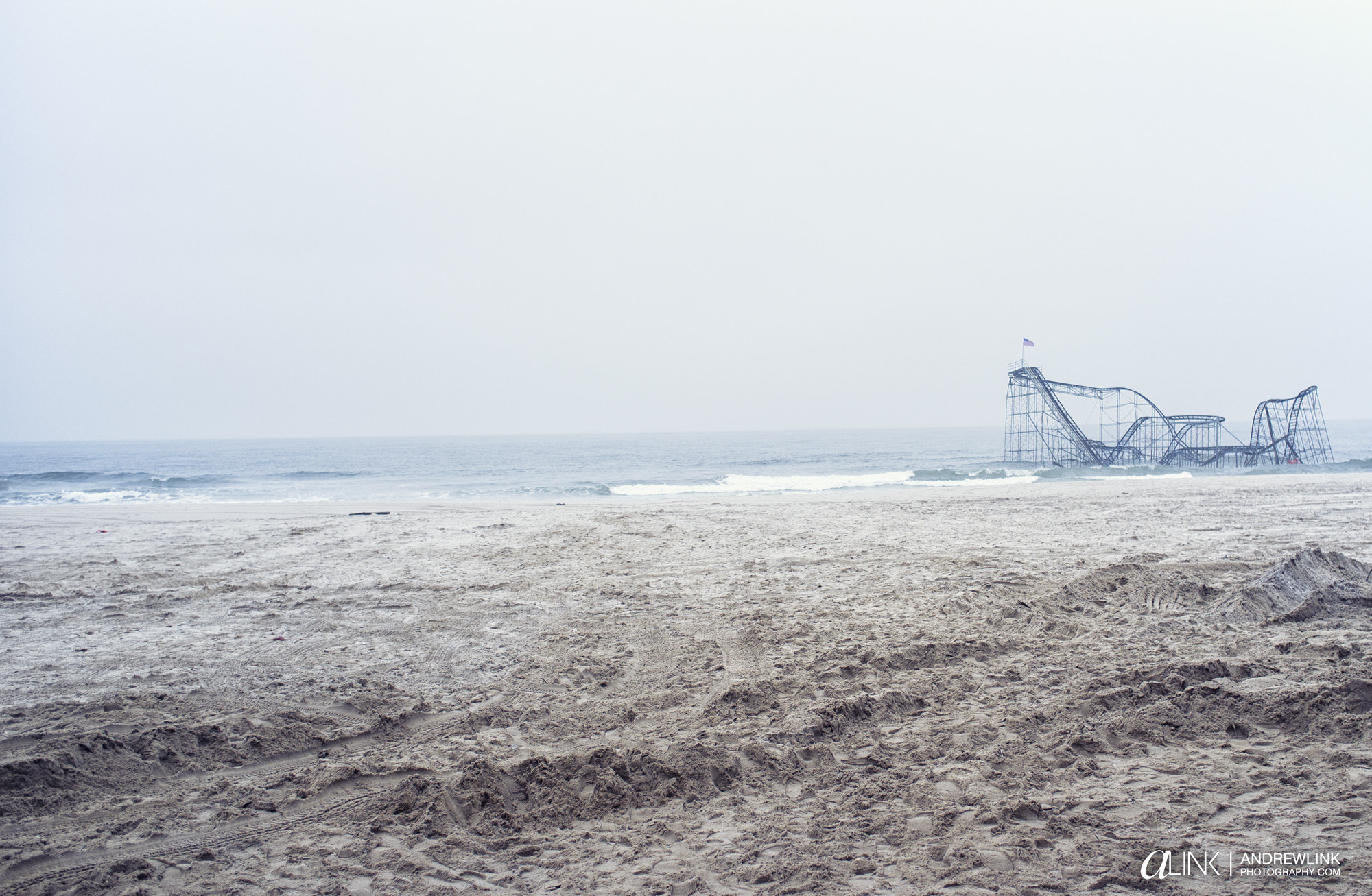 Photograph Seaside Heights, NJ  2 Months after Hurricane Sandy by Andrew Link on 500px