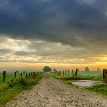 Dark Countryside Road