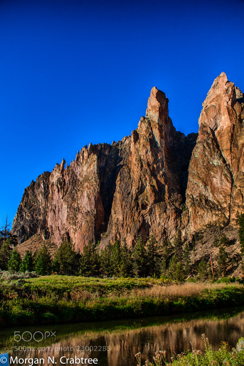 Photograph Smith Rock State Park by Morgan Crabtree on 500px