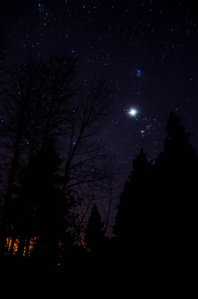 Photograph Awe Struck (Starry Night at Lake Siskiyou) by Eric Leslie on 500px