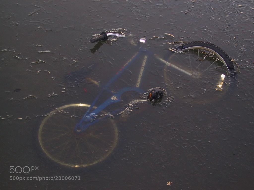 Photograph Frozen Bike by Ben Lusty on 500px