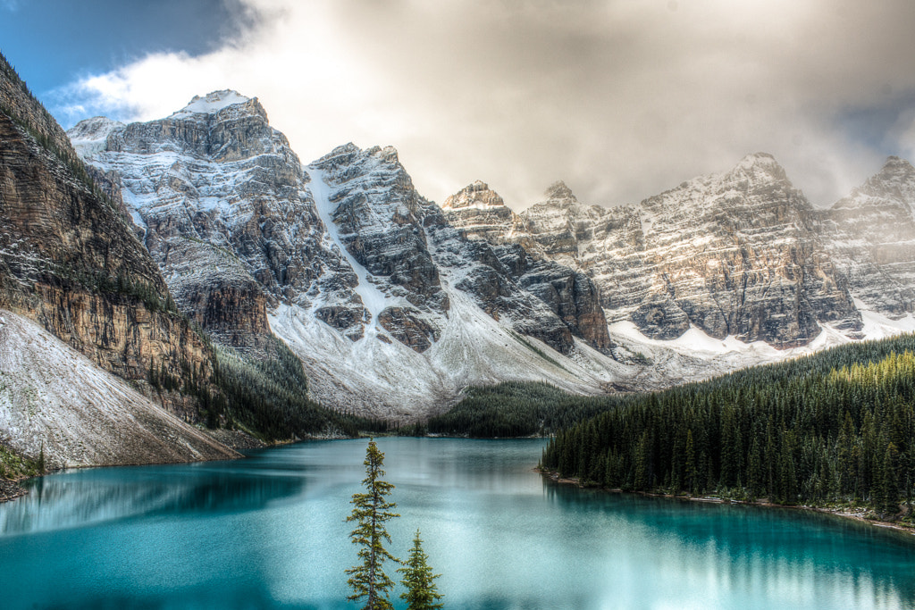 Photograph Moraine Lake, Alberta by Tyler Ingram on 500px