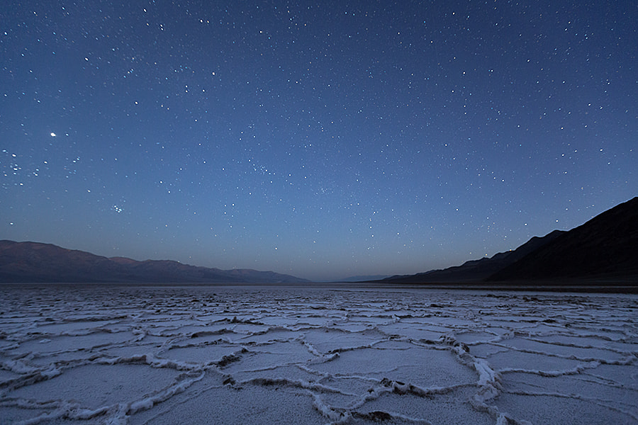 Photograph And to All a Good Night - Badwater - Death Valley - CA by Sandy Gennrich on 500px