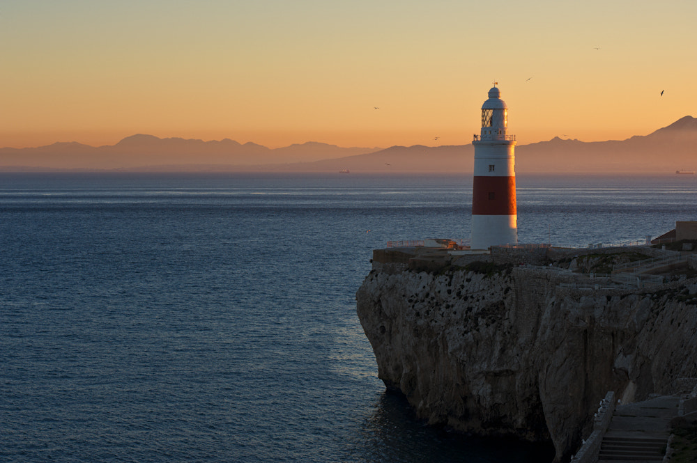 Photograph Trinity Lighthouse Gibraltar by Allard Schager on 500px