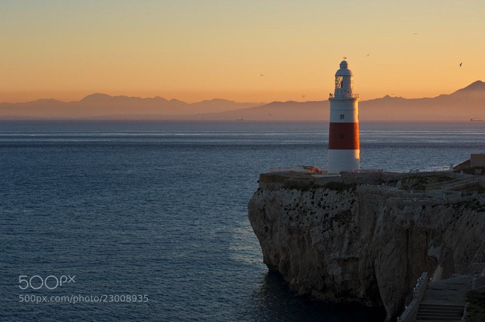 Photograph Trinity Lighthouse Gibraltar by Allard Schager on 500px
