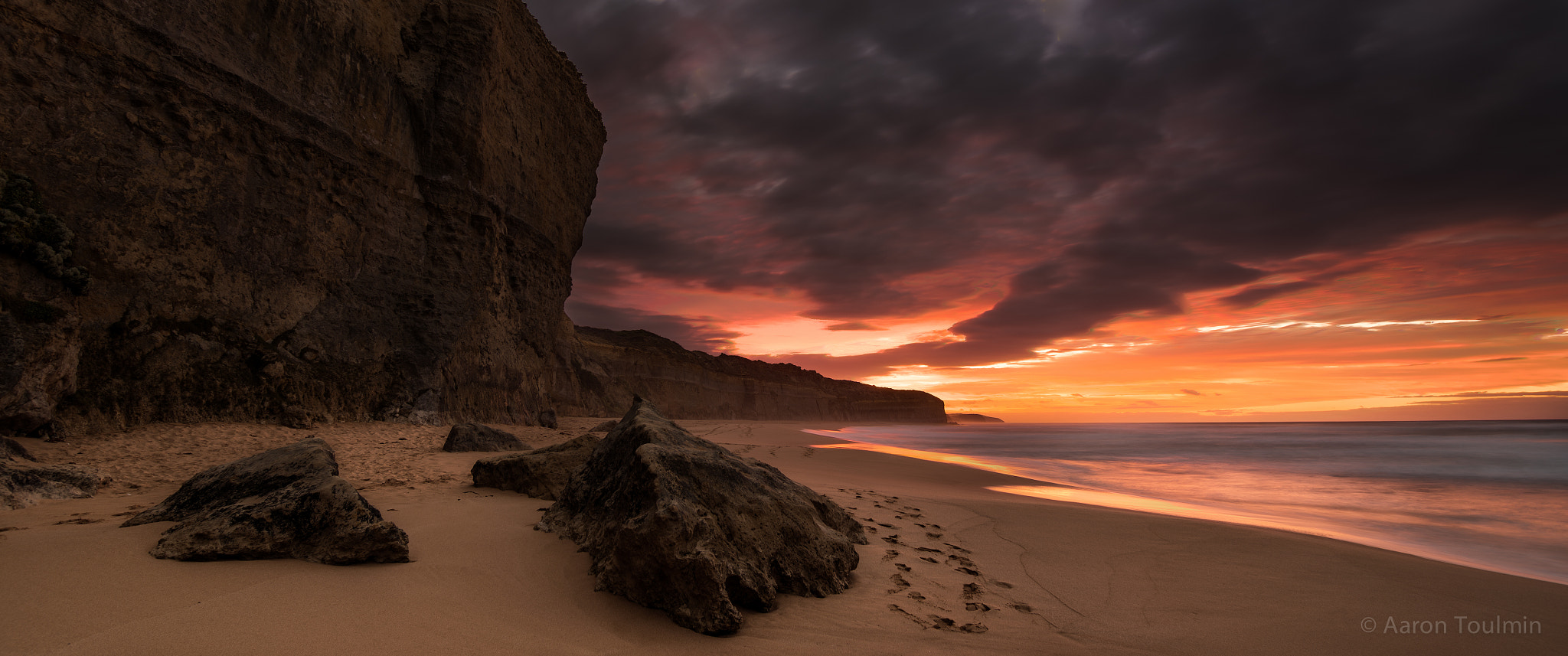 Photograph Gibson Steps Panorama by Aaron Toulmin on 500px