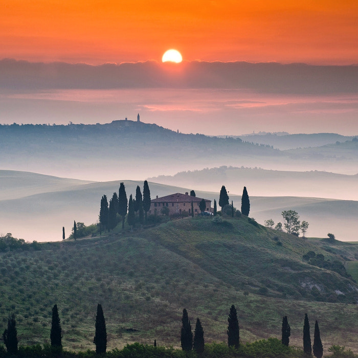 Photograph TUSCAN SUNRISE by TOMÁŠ MORKES on 500px