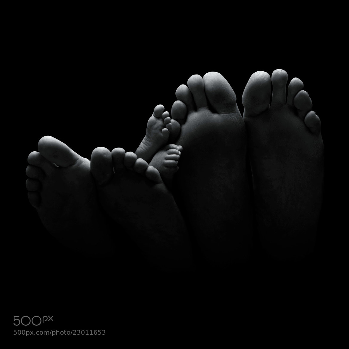 Photograph Tiny Toes by Paul Mariess on 500px