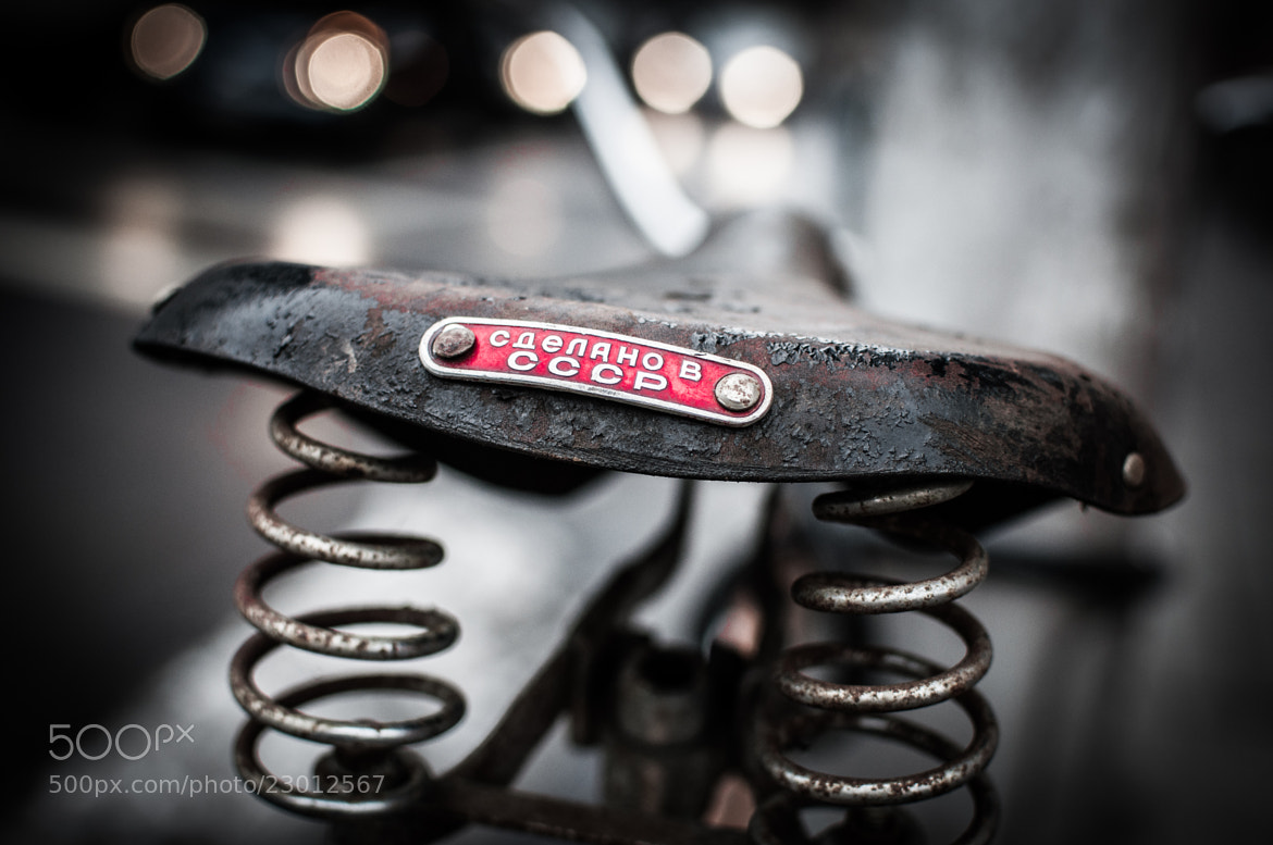 Photograph Vintage bicycle seat by Janos Debreczi on 500px