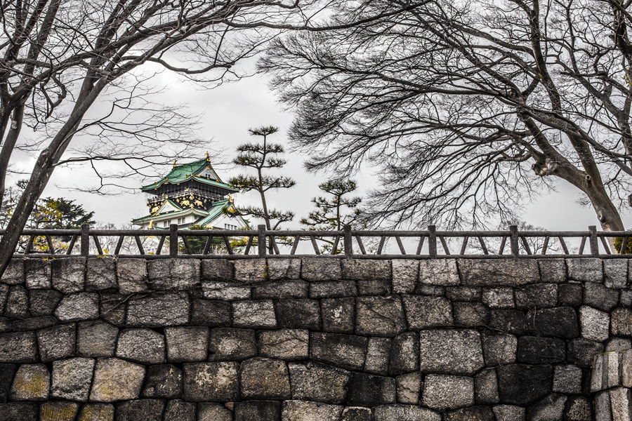 Photograph Osaka Castle by Tim Grey on 500px
