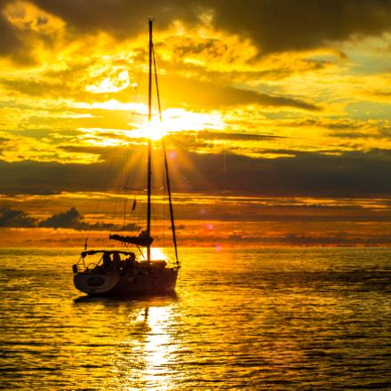 Island Bol sunset