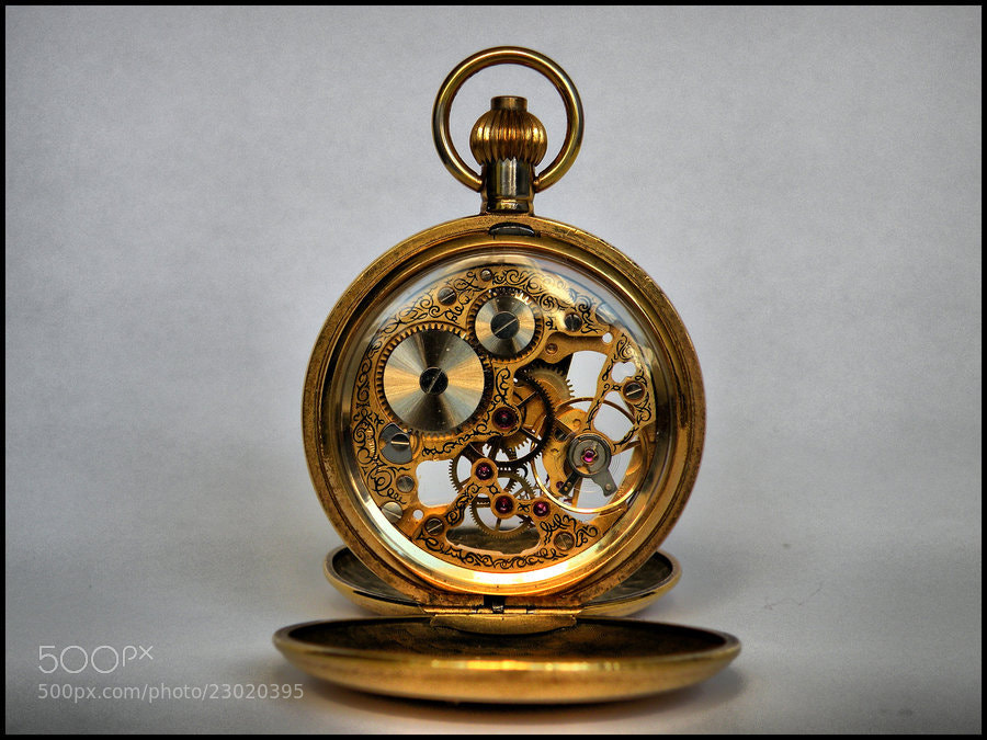 Photograph Steampunk Watch by Nikolina Bobic on 500px