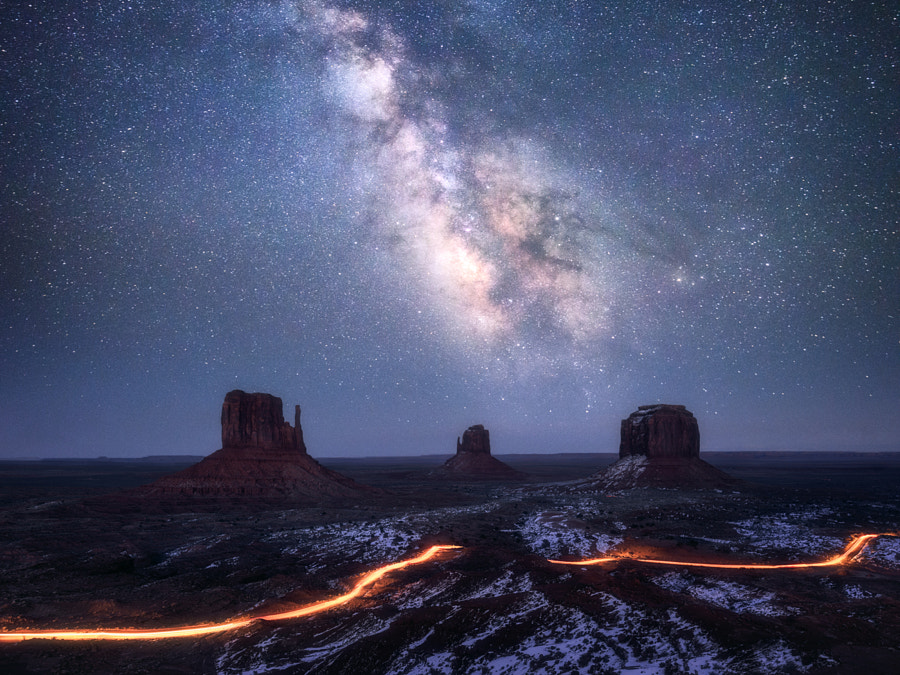 Galaxy Valley by Daniel Gastager on 500px.com