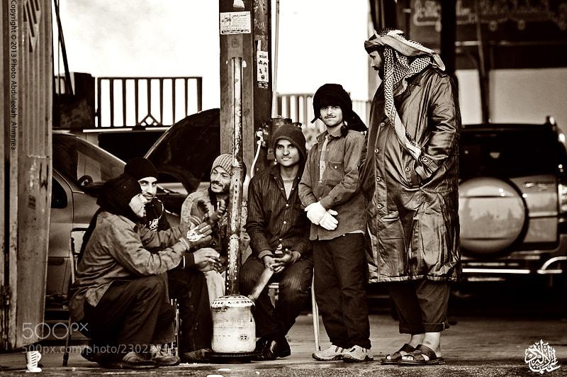 Photograph street life - Cold by Abduleelah Al-manea on 500px