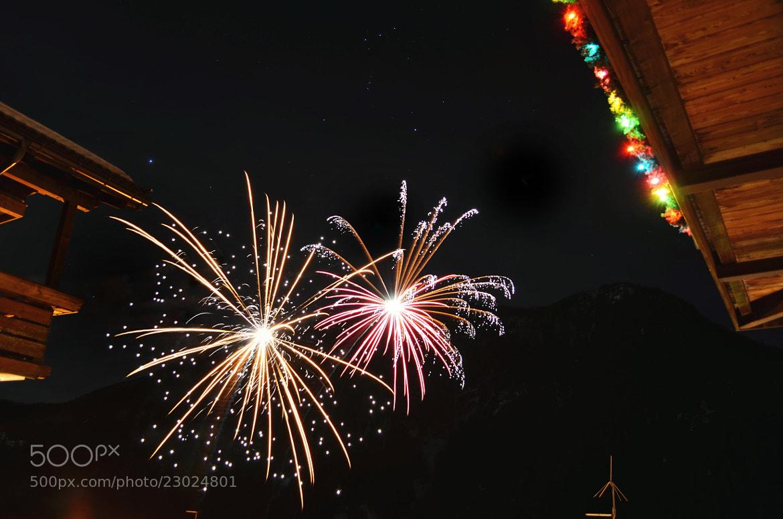 Photograph Fireworks by Tiziano Rigo on 500px