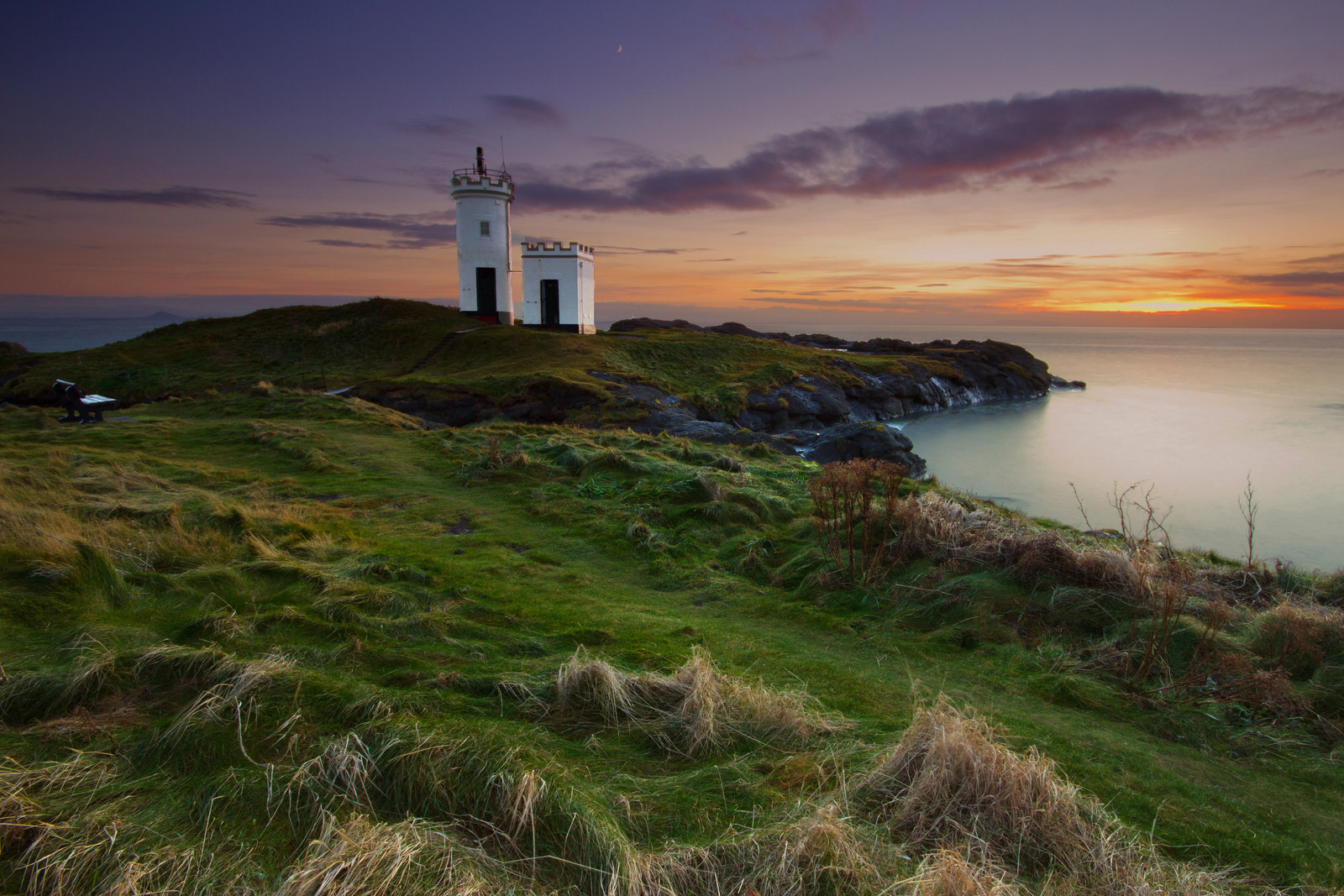 Photograph Lighthouse Dusk by Simon Cameron on 500px