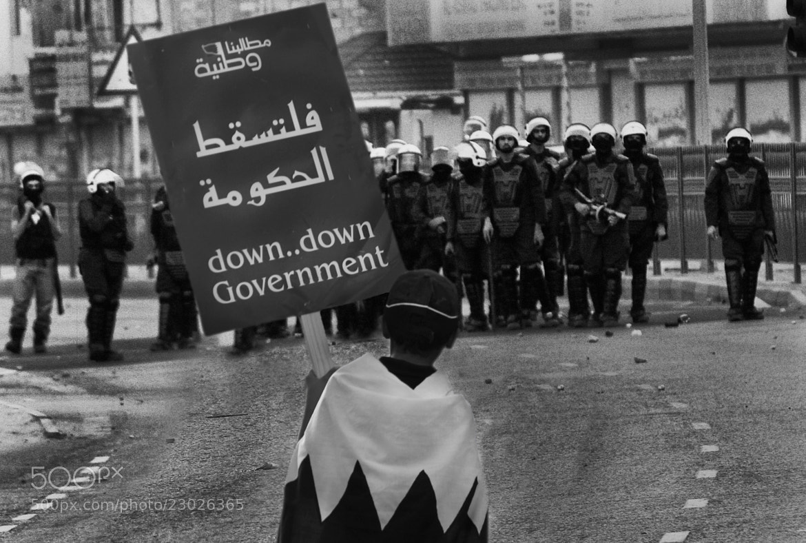Photograph Down Down Government  by Ahmed Al-Fardan on 500px