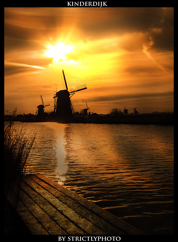 Photograph late kinderdijk by Patrick Strik on 500px