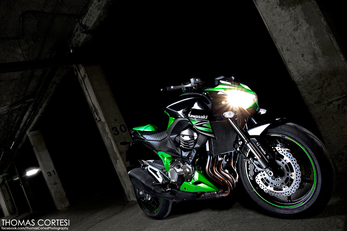 Photograph Kawasaki Z800 by Thomas Cortesi on 500px