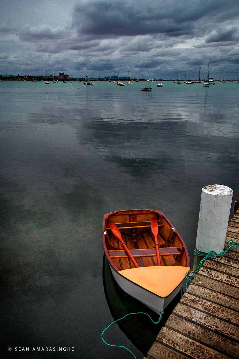 Photograph Lonely Boat by Sean Amarasinghe on 500px
