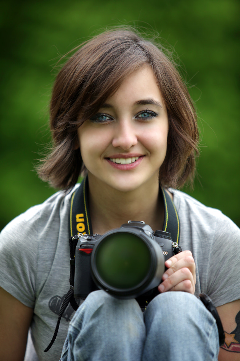 Photograph Camera girl by Andre Jabali on 500px