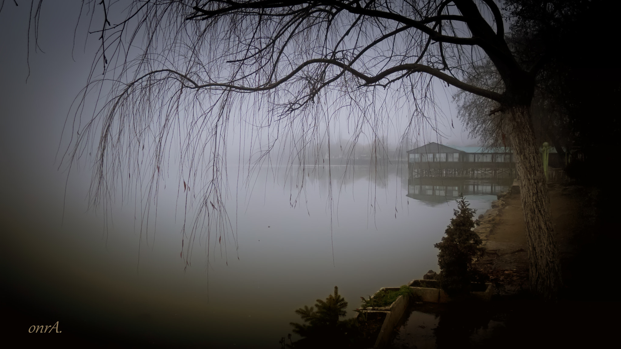 Photograph lake and fog by onr A. on 500px