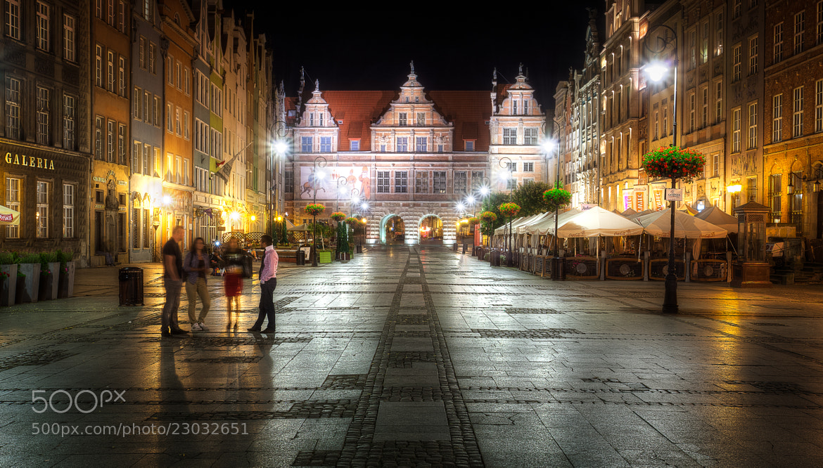 Photograph Long Market at Night by Lukas Larsed on 500px