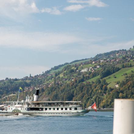 "Merligen - Steam boat ""Blümlisalp"""