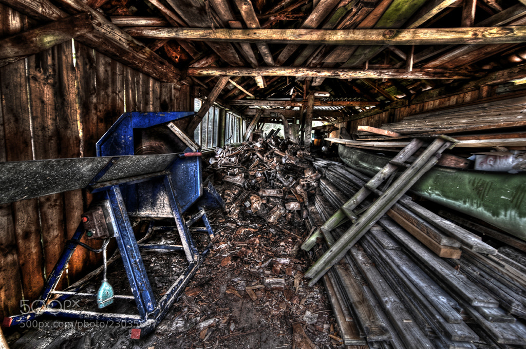 Photograph The sawmill... by Almqvist Photo on 500px