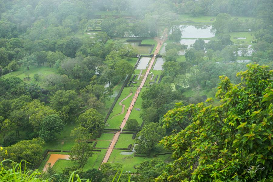 Sigiriya, atop the Lion Rock