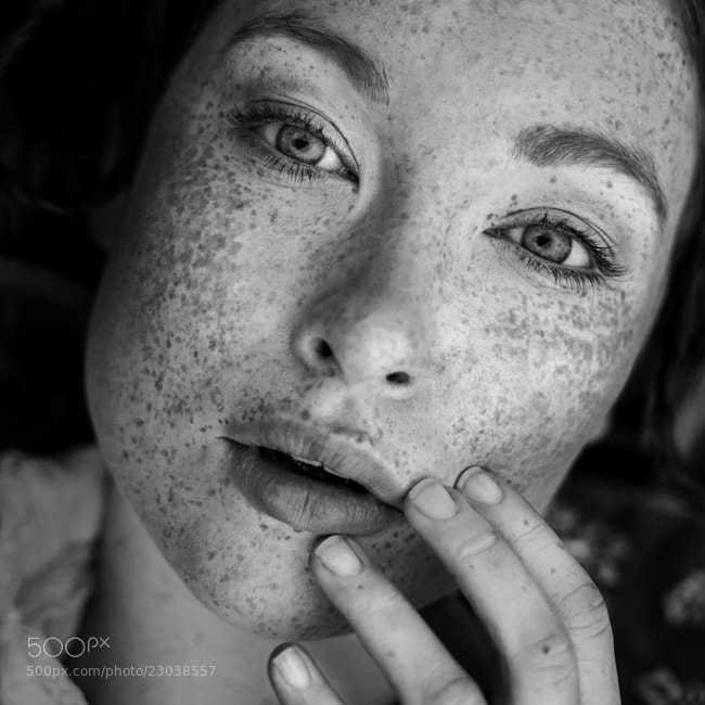 Photograph Hannah by Andrea Hübner on 500px