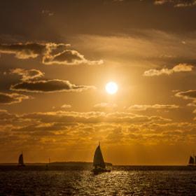Sunset auf den Keys