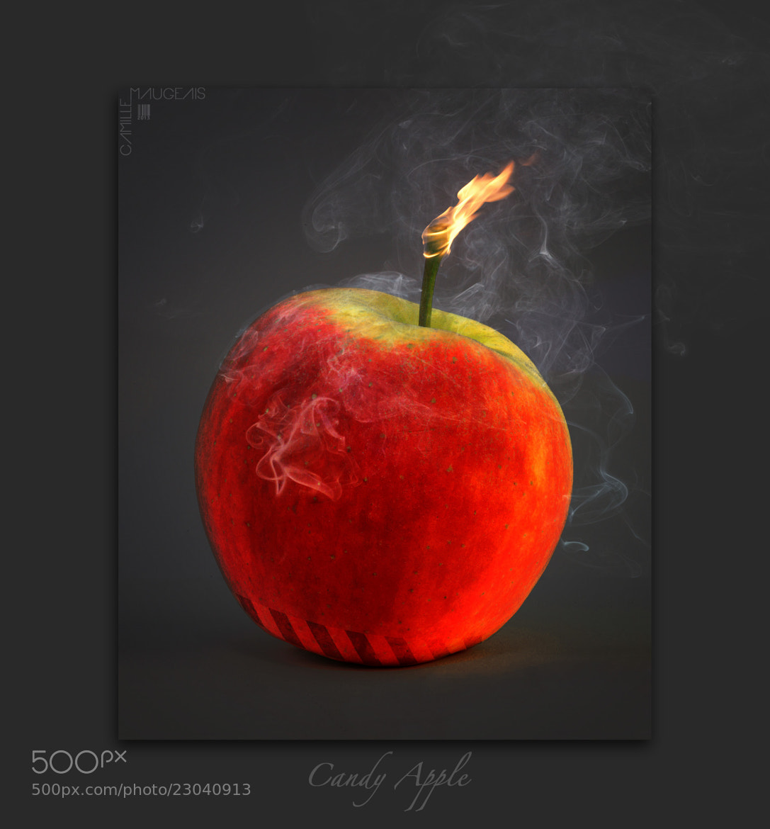 Photograph Candy Apple by Camille Maugeais on 500px