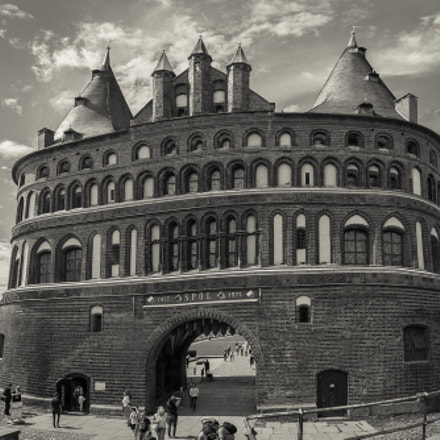 Das Holstentor in Lübeck