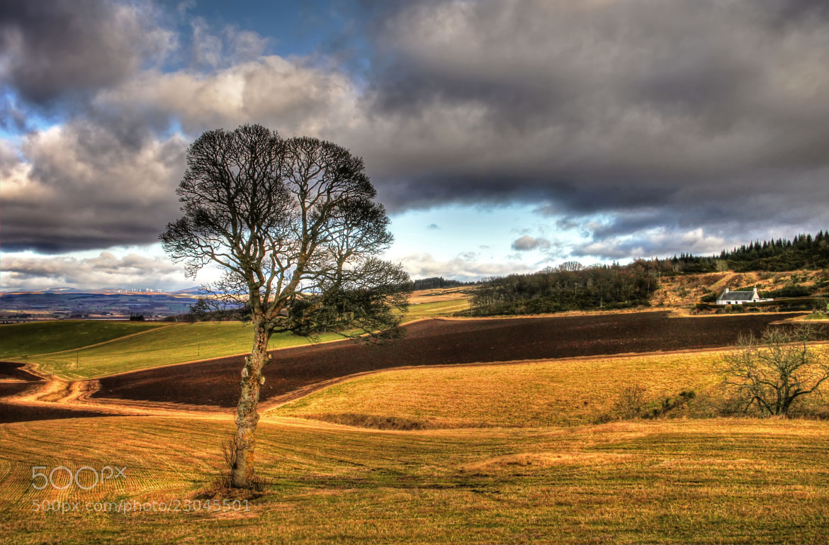 Photograph Farm On The Hill by Hilda Murray on 500px