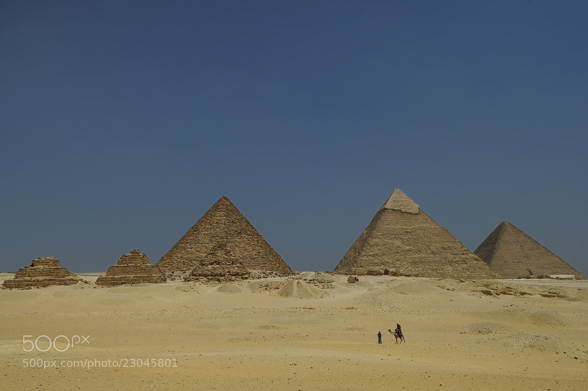 Photograph Pyramids by Arvind Balaraman on 500px