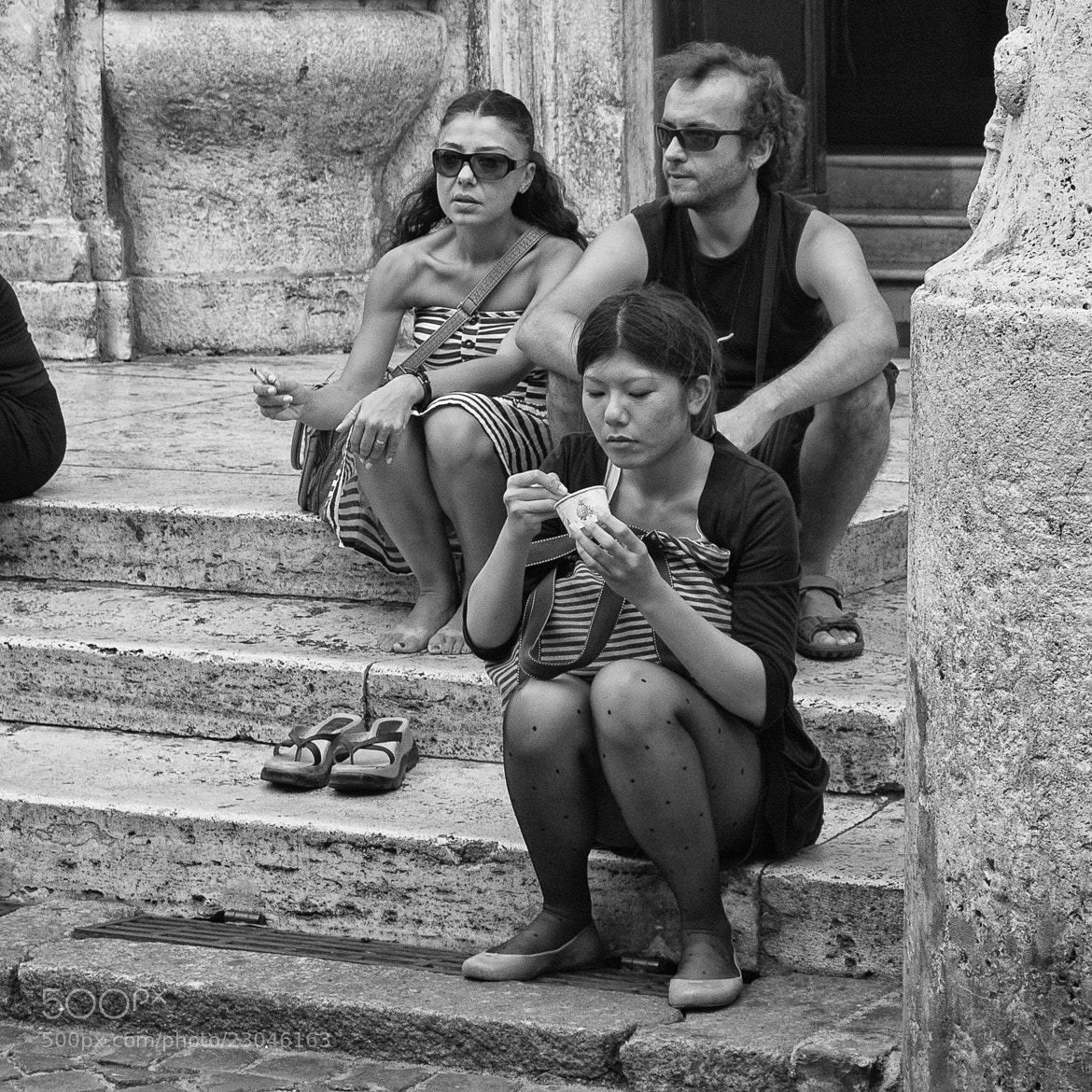 Photograph Ice-cream on the steps by Jorge Soriano on 500px