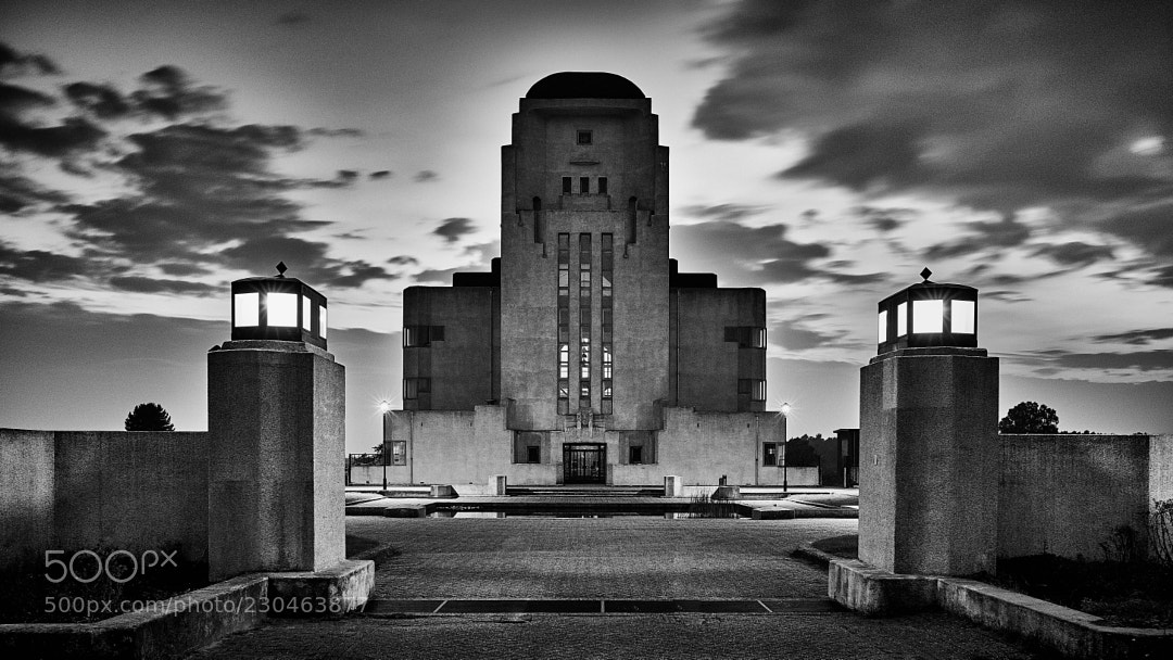 Radio Kootwijk in black & white