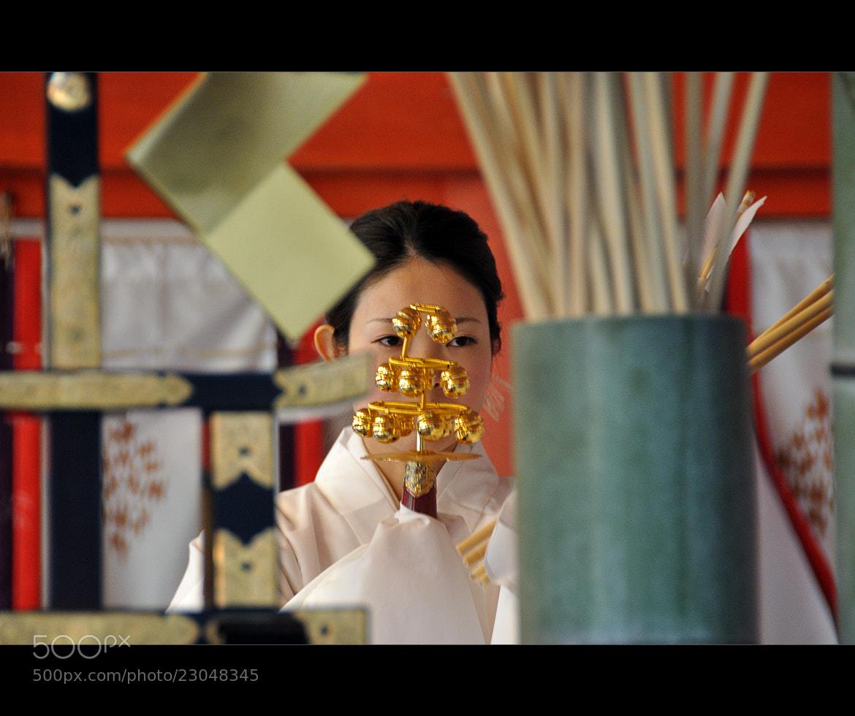 Photograph Shinto Prayer Dance by Omar Al-Harran on 500px