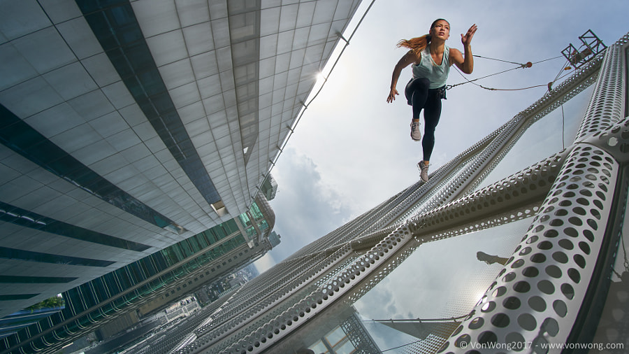 Walking on air by Benjamin Von Wong on 500px.com