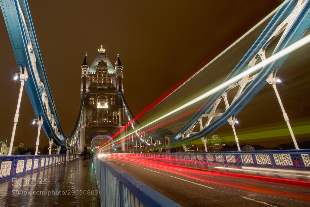 Photograph Journey through Tower Bridge by Richard Wilson on 500px