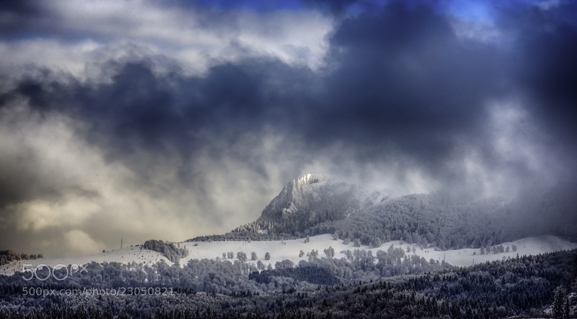 Photograph Snow and clouds by Sorin Markus on 500px