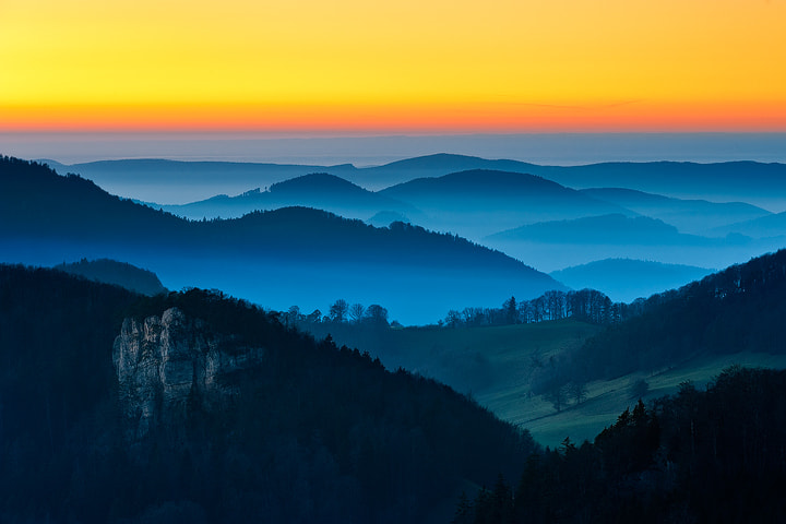 """Photograph Misty Mountains by Roland """"Bill"""" Moser on 500px"""