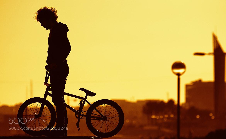 Photograph bmx sunset by Marc Serarols on 500px