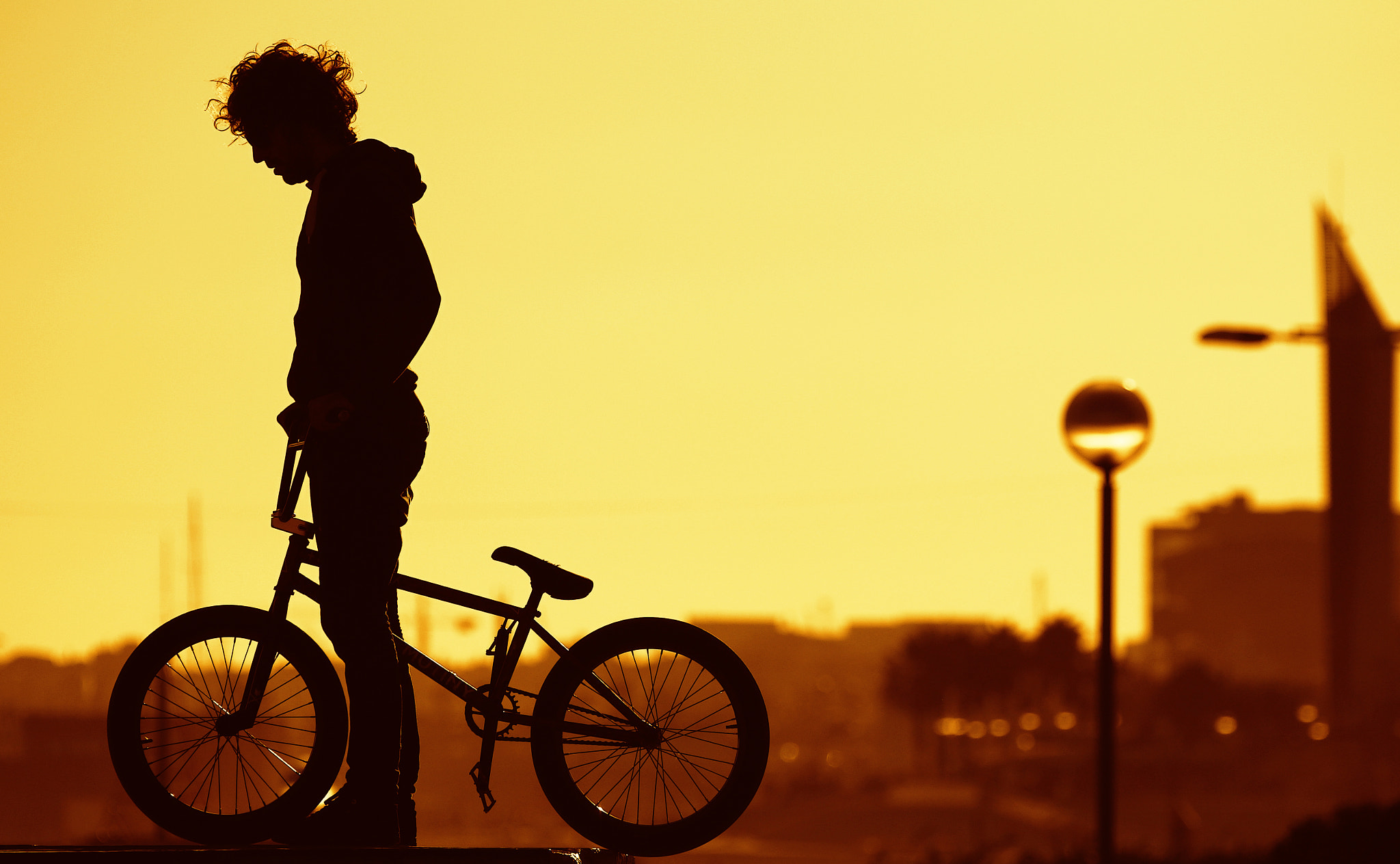 Photograph bmx sunset by Marc Serarols on 500px