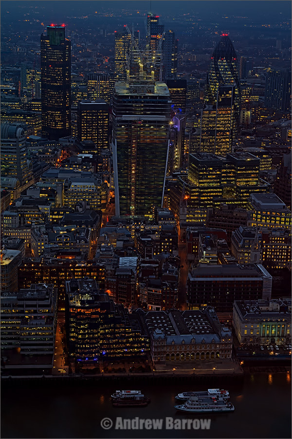 Photograph The City of London from the Shard by Andrew Barrow LRPS on 500px
