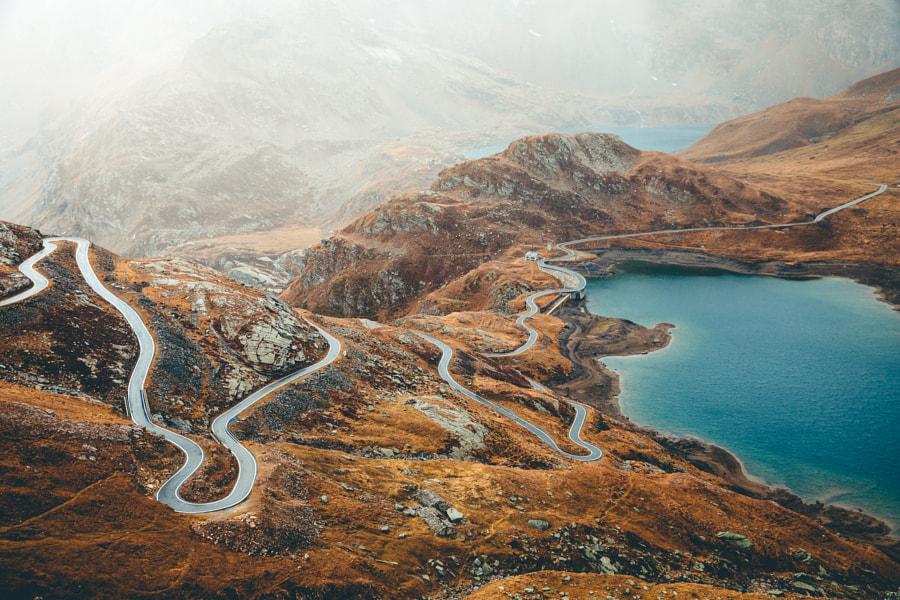 Nivolet Pass in Autumn Colors by Federico Ravassard on 500px.com