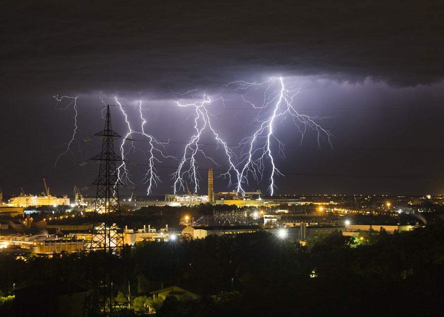 Forked Lightning by Jure Batagelj on 500px.com