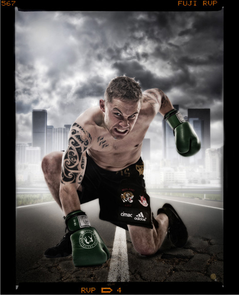 Photograph Boxer Carl Frampton by Russell Pritchard on 500px